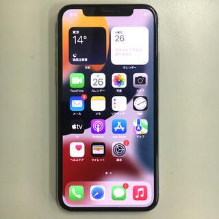 iPhone X SIMフリー 64GB 完動品 楽天モバイル対応 シルバー(スマートフォン本体)