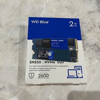 WDS200T2B0C BLUE WD製 SN550 2TB SSD