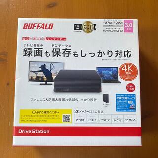 Buffalo - BUFFALO 外付けHDD HD-NRLD3.0U3-BA 新品未開封