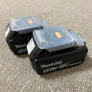Makita - マキタ 純正 18V 6Ah バッテリー 2個 新品未使用 セット割‼️