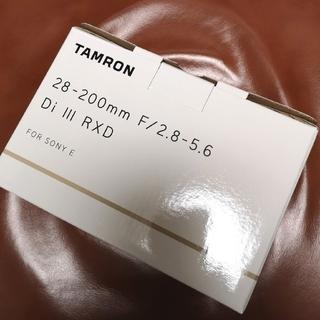 TAMRON - ■新品■ タムロン28-200mm F2.8-5.6 Di III RXD