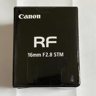Canon - キヤノン Canon RF16mm F2.8 STM 新品未開封