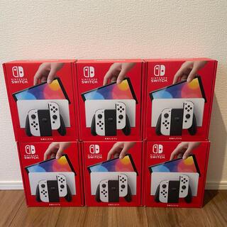 Nintendo Switch - 有機EL switch ホワイト 6台