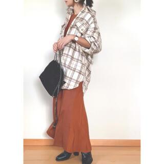 Aunt Marie's - AUNT MARIE'S × WEARISTA YUKI チェックビッグシャツ