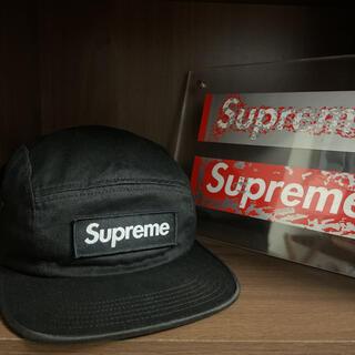Supreme - Supreme シュプリーム 18FW チノ ツイル キャンプ キャップ 黒