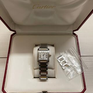 Cartier - カルティエ タンクフランセーズ SM  コンビ レディースクォーツ