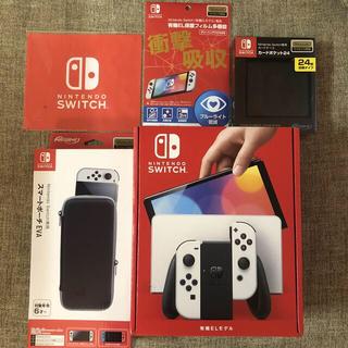 Nintendo Switch - Nintendo Switch 有機EL ホワイト 付属品セット