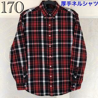 Ralph Lauren - 170センチ ラルフローレン 厚手ネル生地が暖かい♪長袖シャツ ジャケットにも