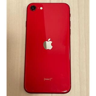 iPhone - iphone SE 64GB レッド SIMフリー 本体