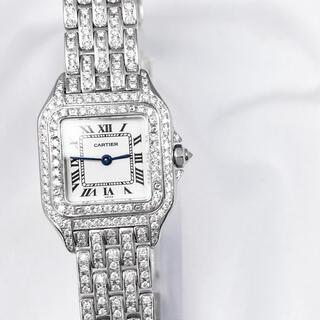 Cartier - 【保証書付】カルティエ パンテール SM  ダイヤ レディース 腕時計