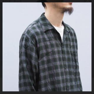 COMOLI - comoli レーヨンシャツ