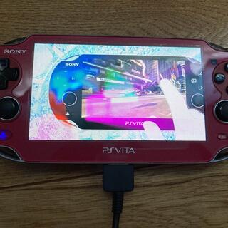 PlayStation Vita - PlayStation Vita PCH-1000 赤 ジャンク品