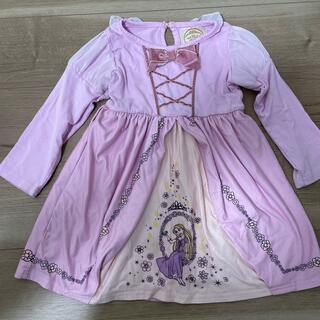 Disney - ラプンツェル ♡ ワンピース 110 ピンク プリンセス