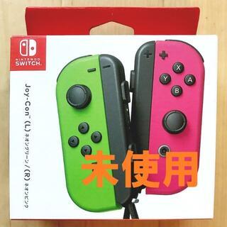 任天堂 - 任天堂 Switch Joy-Con(L)ネオングリーン/(R)ネオンピンク