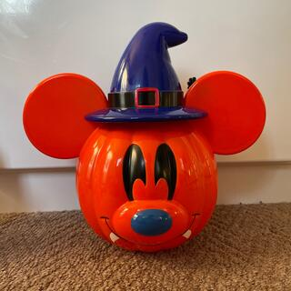 Disney - ハロウィン ミッキー ポット お菓子入れ