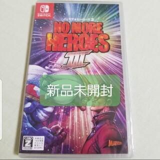 ニンテンドースイッチ(Nintendo Switch)のノーモア★ヒーローズ3 Switch(家庭用ゲームソフト)