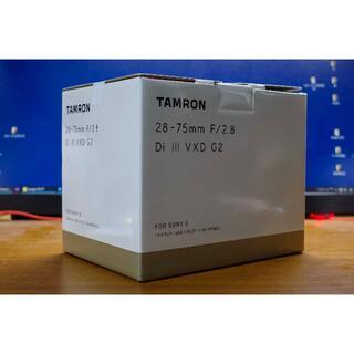 TAMRON - 【新品未開封】TAMRON 28-75 F2.8 VXD G2【保証付】