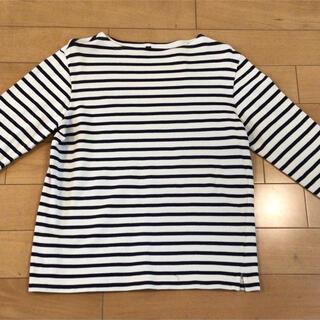 MUJI (無印良品) - 無印良品 ボーダーシャツ