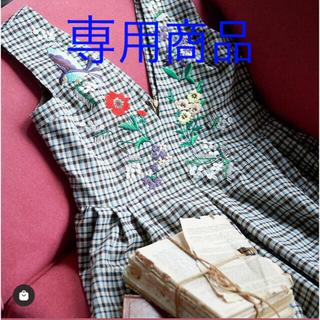 Chesty - Chesty オリジナル刺繍ワンピース 限定色 サイズ1