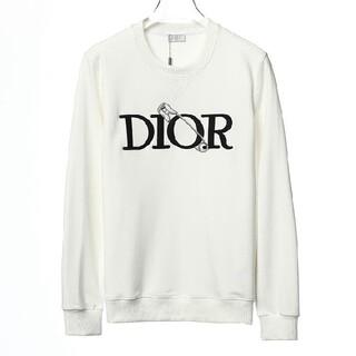 Christian Dior - 美品◆スウェット トレーナー Christian Dior ホワイト
