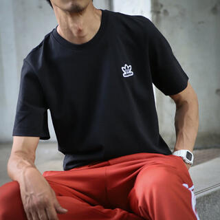 adidas - アディダスオリジナルス adidas Tシャツ トレフォイル ワンポイント