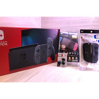 Nintendo Switch - おまけ付き!すぐに遊べる完全品液晶モデル新型NintendoSwitch本体一式