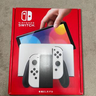 Nintendo Switch - nintendo switch 有機elモデル ホワイト新品未使用