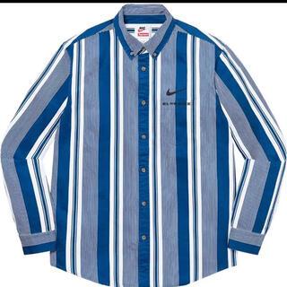 "Supreme - Supreme / Nike® Cotton Twill Shirt ""Blue"