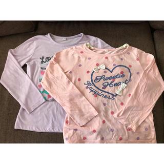 長袖Tシャツ 2枚セット 130サイズ