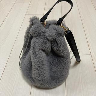 しまむら - しまむら エコファー巾着型バッグ