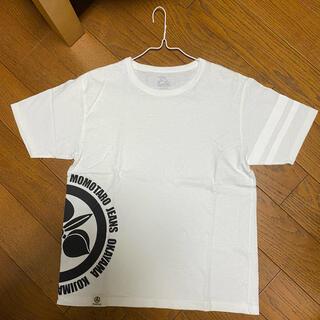 桃太郎ジーンズ Tシャツ 白 サイズS 美品