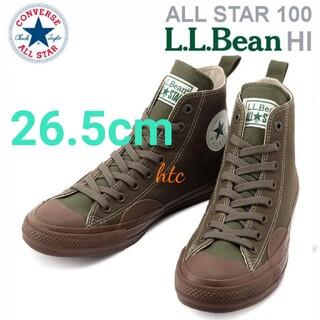 CONVERSE - CONVERSE ALL STAR 100 L.L.Bean HI☆コンバース