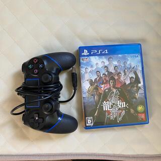 PlayStation4 - 龍が如く維新、プレステ4コントローラ