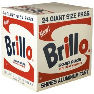 MEDICOM TOY - CERAMICK Andy Warhol Brillo box
