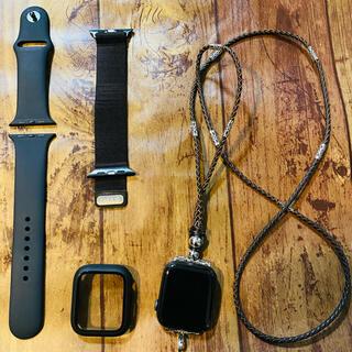 Apple Watch - Apple Watch 6 44mGPS アルミニウム ブラックスペースグレイ