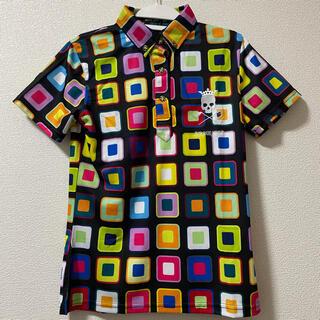 PEARLY GATES - 未使用 タグ付き Birdie  Hunt ゴルフウエア 半袖 ポロシャツ