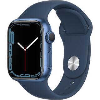 Apple Watch - Apple Watch Series 7 GPS 41mmブルーアルミニウム