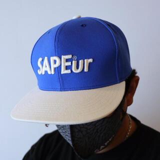 【即完売品】SAPEur sapeur サプール キャップ 青 送料込み