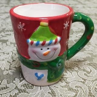新品  ♡雪だるま マグカップ♡
