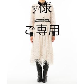 GRACE CONTINENTAL - グレース コンチネンタル レース刺繍ドレス