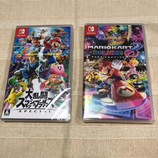 Nintendo Switch - 大乱闘スマッシュブラザーズ SPECIAL マリオカート8 新品未開封