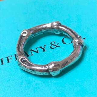 Tiffany & Co. - ティファニー★バンブーリング 9.5号