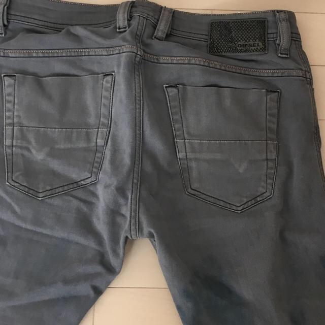 DIESEL(ディーゼル)の☆DIESEL グレーデニムパンツ メンズ メンズのパンツ(デニム/ジーンズ)の商品写真