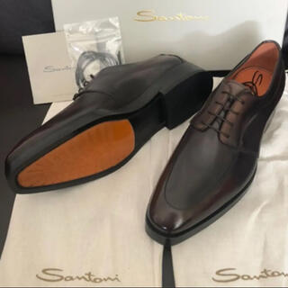Santoni - 【約17万円・最高級・美品】Santoni サントーニ グラデーション革靴
