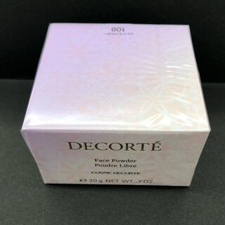COSME DECORTE - コスメデコルテ  フェースパウダー 108 新品