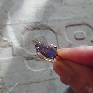 H.P.FRANCE - MONAKA Jewellery モナカジュエリー K14 ボルダーオパール