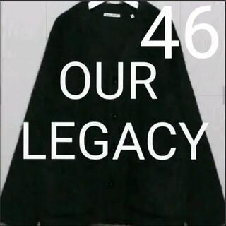 Maison Martin Margiela - 国内正規品 OUR LEGACY CARDIGAN black 46