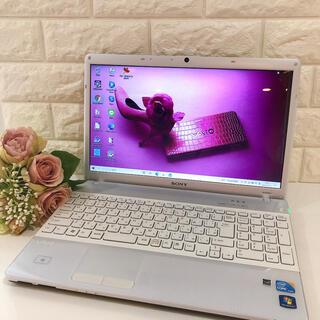 SONY - めちゃかわVAIO✨快適Windows10・データ保存320GB・ノートパソコン
