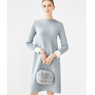 """FOXEY - Foxey knit dress """"Letter F"""""""