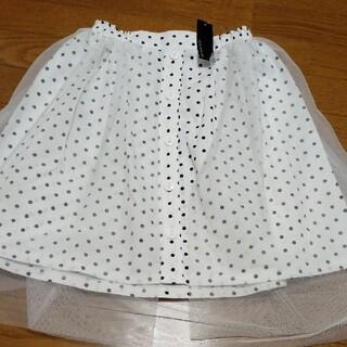 ヒラヒラ レーススカート 160